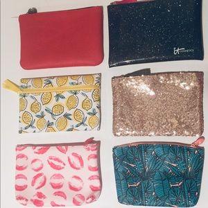 6 Make Up Bags